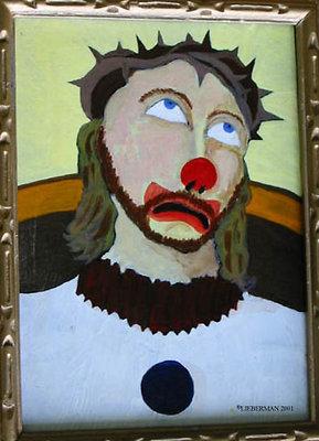 Jesus the clown2 x