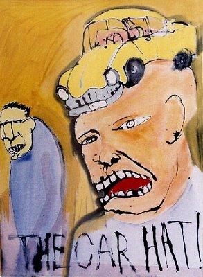 CAR HAT x