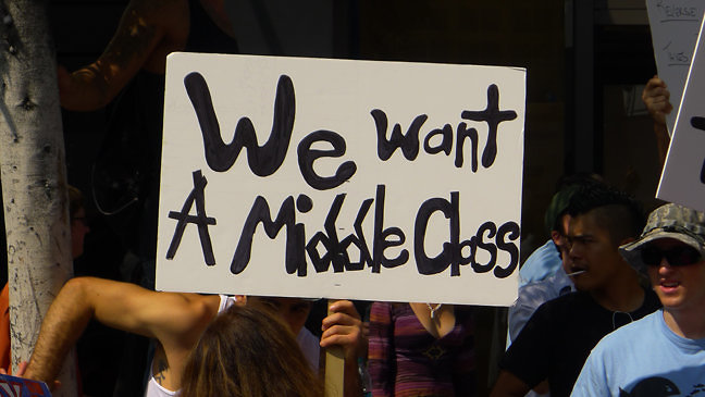 middle class LA CA 10-2011