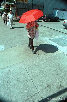 UMBRELLA-2001-c-town 14 A 72 RED