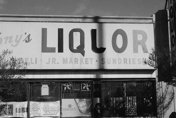 Tony s Liquor Santa Monic and Wilton Jan 2012  sm