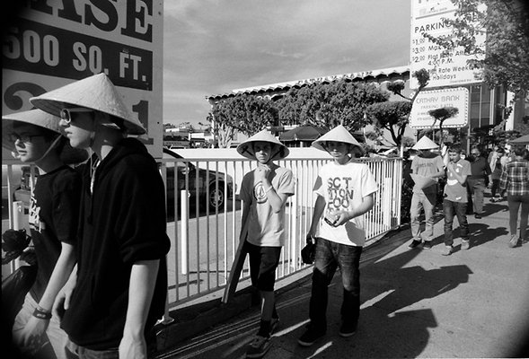 youths with hats china town 1-29-12 sm X