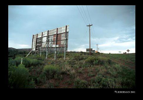 NM Gallup Billboard rear roadside 72