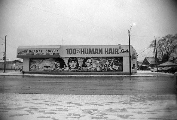 7 mile & Wyoming Human Hair Detroit Mich 1-27-2012 sm